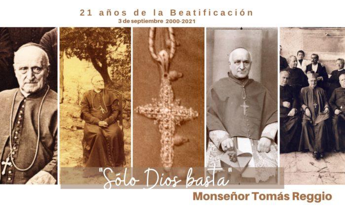 Banner 21 años de Beatificación