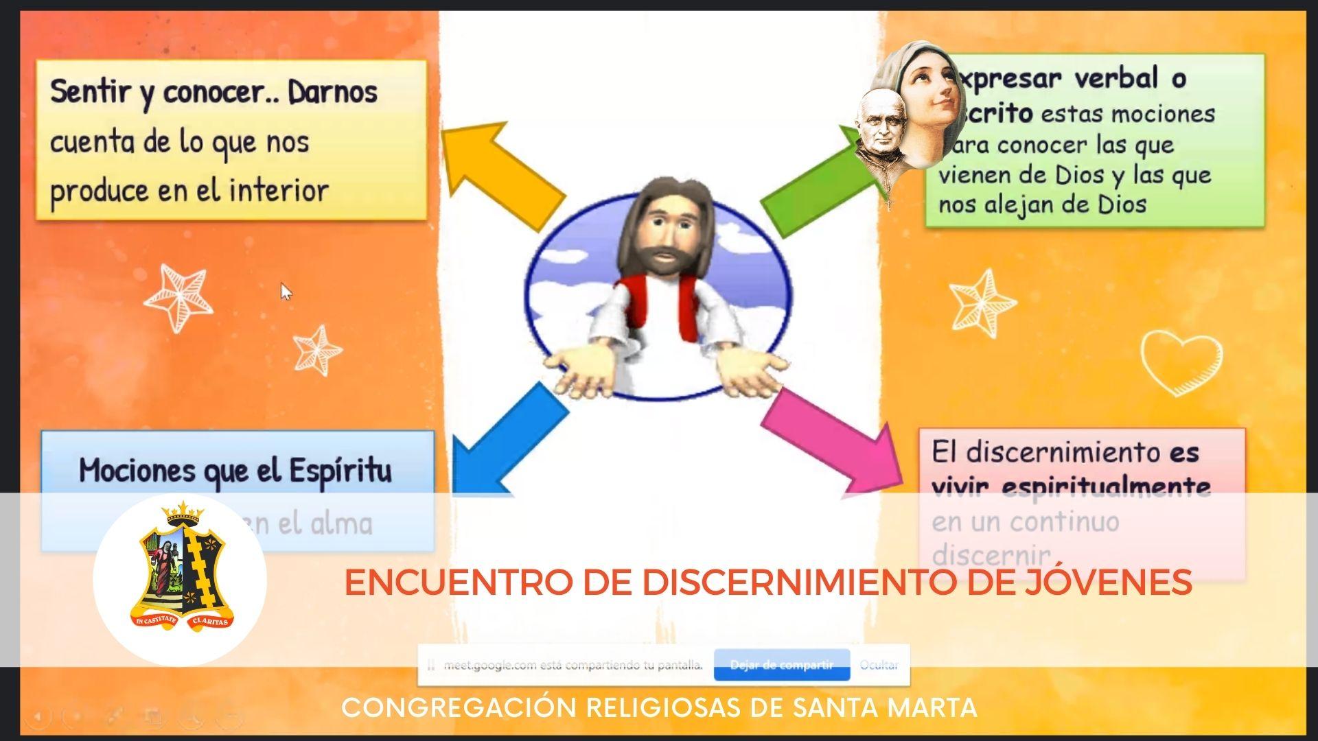 Jóvenes en Jornada de Discernimiento1